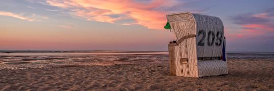 Strandkorb in Hooksiel – Rene Spielmann