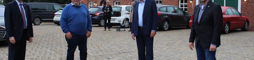 Stephan Weil in Middoge